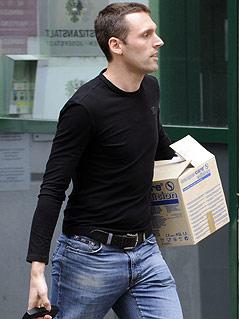 Stefan Matschiner bei Haftentlassung