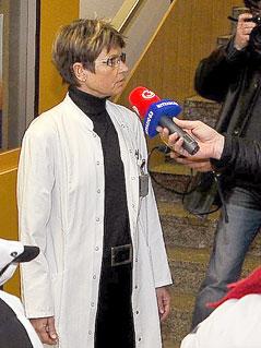 Die ärztliche Direktorin des LKH Innsbruck Alexandra Kofler