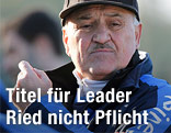 Ried-Trainer paul Gludovatz