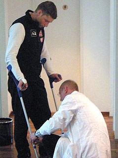 Benjamin Raich und Dr. Karl Golser