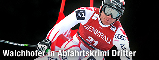 Michael Walchhofer während der Abfahrt in Kvitfjell
