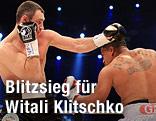 Witali Klitschko und Herausforderer Odlanier Solis