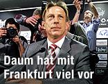 Präsentation des neuen Frankfurt-Trainers Christoph Daum