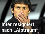 Inter Mailands Trainer Leonardo
