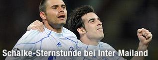 Spielszene Inter Milan - Schalke