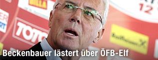 Botschafter des ÖFB-Nachwuchs Franz Beckenbauer