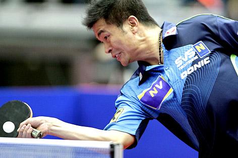 Tischtennisspieler Chen Weixing (SVS NÖ)
