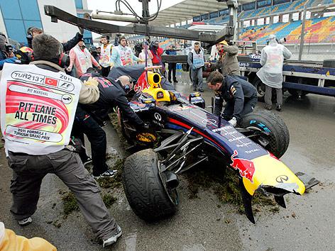 Unfall Vettel