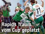 Daniel Royer (Ried) und Steffen Hofmann (Rapid)