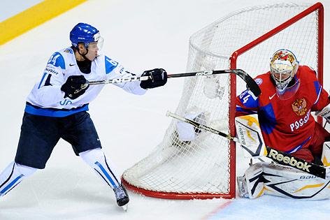 Finnland-Youngster Granlund schießt Tor