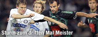 Andreas Hoelzl (Sturm) gegen Alexander Hauser (Wacker)