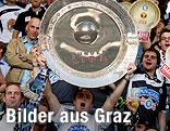 Sturm-Fans feiern vorab schon den Meistertitel