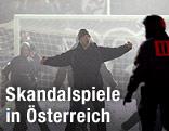 Ausschreitungen bei Austria Wien gegen Athletic Bilbao