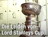 Stanley Cup in der Hockey Hall of Fame in Toronto