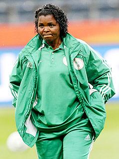 Nigerias Nationaltrainerin Ngozi Uche