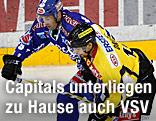 Martin Oraze (Capitals) und Tomaz Razingar (VSV).