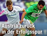 Alexander Gruenwald (Austria) und Ilco Naumoski (Mattersburg)
