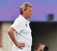 Austria Trainer Karl Daxbacher