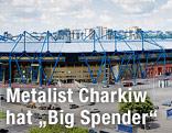 Metalist Fußballstadion in der Ukraine