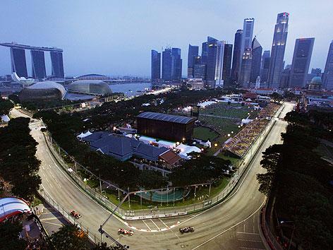 formel 1 strecke singapur