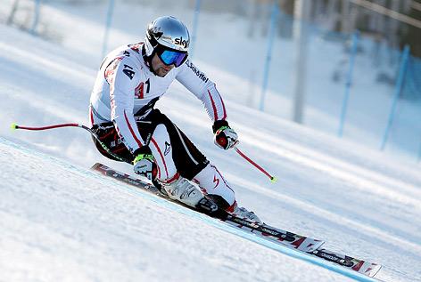 Mario Scheiber auf Ski