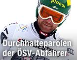Klaus Kroell mit Helm und Brille