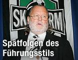 Hannes Kartnig als Präsident von Sturm Graz im Jahre 2006