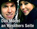 Marcel Hirscher mit Partnerin Laura Moisl