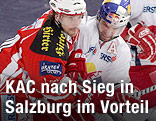 Spielszene KAC Klagenfurt - Red Bull Salzburg