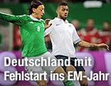 Mesut Özil und Yann Mvila