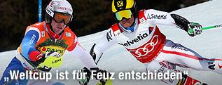 Marcel Hirscher und Beat Feuz