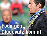 Sturm-Graz-Trainer Franco Foda und Ried-Trainer Paul Gludovatz