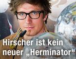 Marcel Hirscher während einer Pressekonferenz