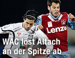 Jacobo Maria Ynclan Pajares (St. Andrae) und Dominic Hassler (Linz)