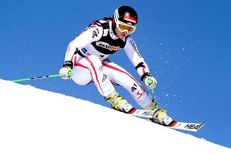 Skifahrerin Elisabeth Görgl