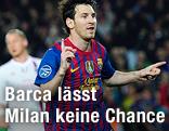 Jubel von Lionel Messi