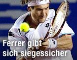 David Ferrer (ESP) am Ball