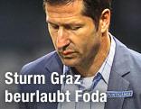 Enttäuschter Ex-Sturm-Trainer Franco Foda