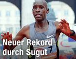Der aus Kenia stammende Läufer Henry Sugut