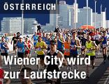 Teilnehmer beim Vienna City Marathon