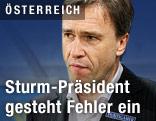 Sturm-Präsident Christian Jauk