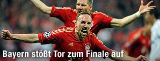 Franck Ribery und Bastian Schweinsteiger