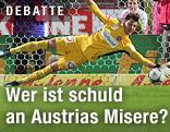 Austria-Tormann Heinz Lindner