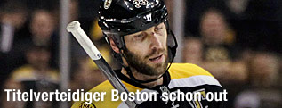 Enttäuschter Boston-Bruins-Verteidiger Zdeno Chara