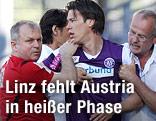 Roland Linz (Austria) verletzt