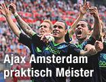 Torjubel der Ajax-Spieler