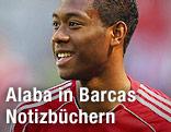 Ein lächelnder David Alaba (Bayern München)