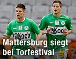 Spielszene Wacker Innsbruck - Mattersburg