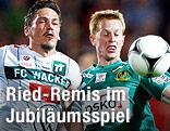 Miran Burgic (Innsbruck) gegen Thomas Reifeltshammer (Ried)