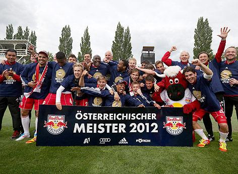 Mannschaftsfoto von Salzburg